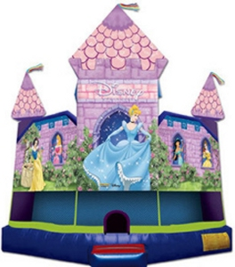 Picture of Disney Princess Standard Jumping Castle Jumpmaxx