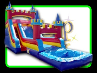 15 Foot Castle Slide