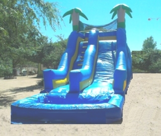 20 foot tropical slide