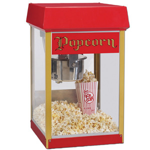 Rent your own popcorn machine it is great fun to make and so easy.