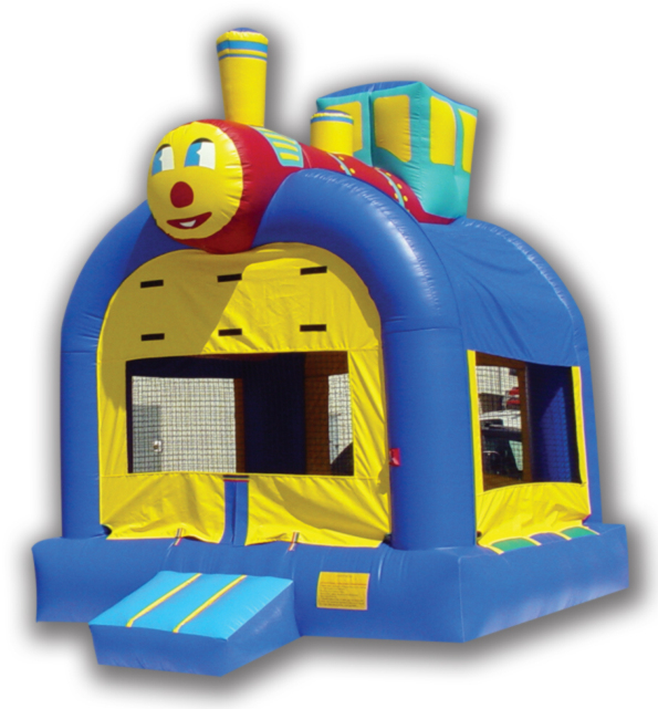 Fun Train jumping Castle 15′ x 15′
