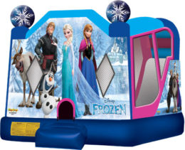Frozen 4 in 1 bounce house combo