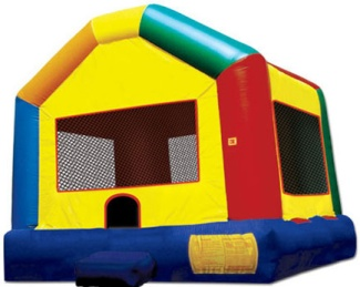 Picture of 10' by 10' Funhouse Castle Jumping Castle Jumpmaxx Tucson