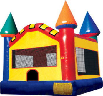 Picture of Standard Castle 2 10x10 Jumping Castle Jumpmaxx