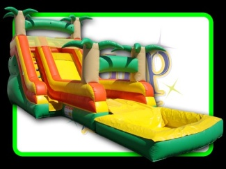 15 Foot Tropical Blast Slide