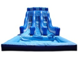 20 Foot Dual Lane Slide
