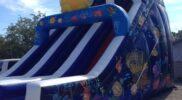 New Unit – 27 foot dual lane dry slide