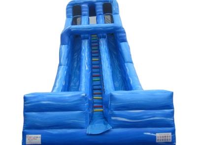 32 foot Dual Lane Dry Slide