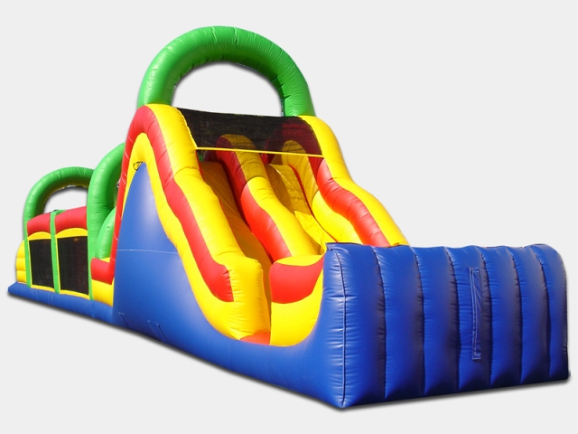 65 Foot Obstacle Course