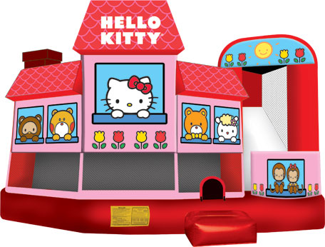 Hello Kitty 5n1 – Jumping Castle