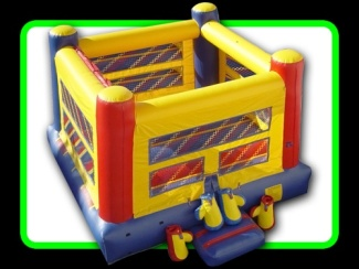 Boxing Ring Great Fun is inside