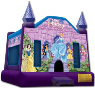 Disney Princess Standard-jumping Castle 13′ x 13′