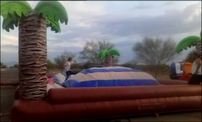 Jumping Pillow