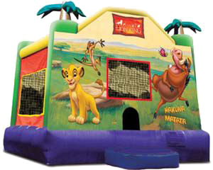 Licensed Disney Lion King Standard Castle