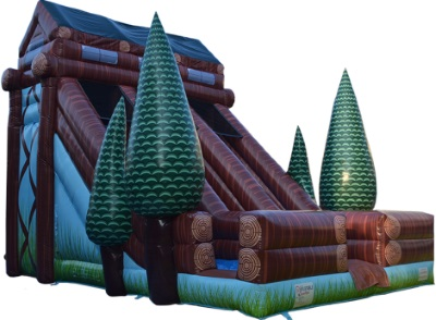 25 Foot Log Cabin Slide