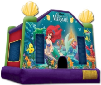 Disney My Little Mermaid – jumping Castle 13′ x 13′