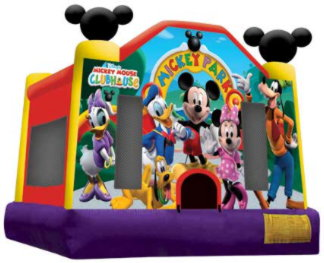 Disney Mickey Park Medium Standard Jumping Castle