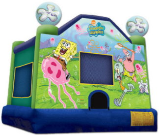 Sponge Bob Medium Standard- Jumping Castle