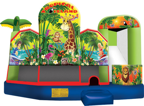 Tropical 5n1- Jumping Castle