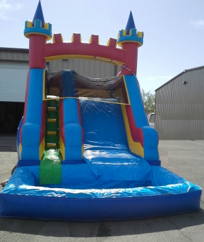 Mini Castle Slide