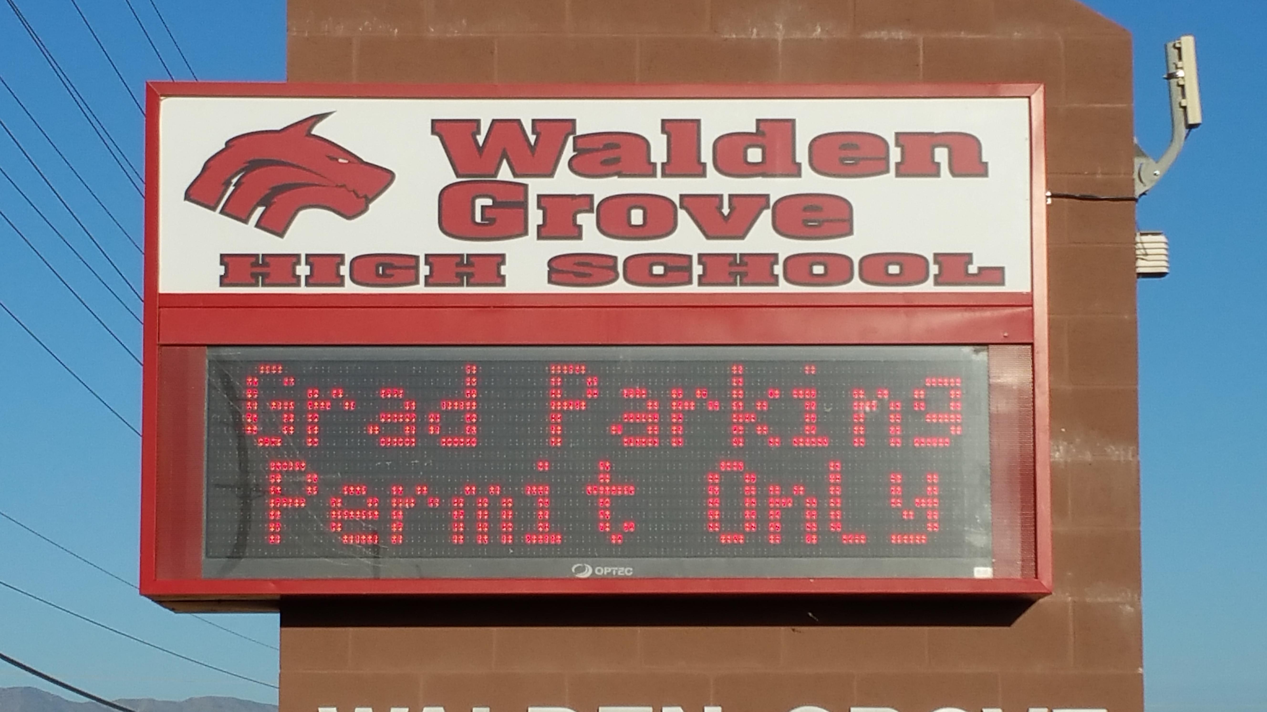 Event: Walden Grove High School