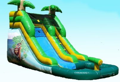 12 Foot Tropical Waterslide