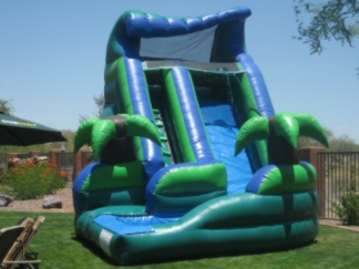 16′ Curved Waterslide